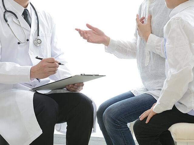 【画像】医師による診察